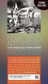 2012 Indian Wells Art Festival flyer
